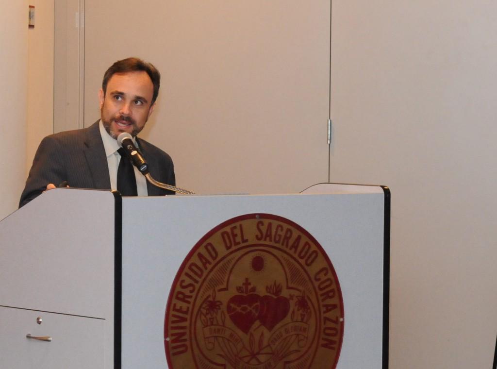 El doctor Gabriel Paizy recibió, por segundo año consecutivo, la Beca Santander (foto de archivo)
