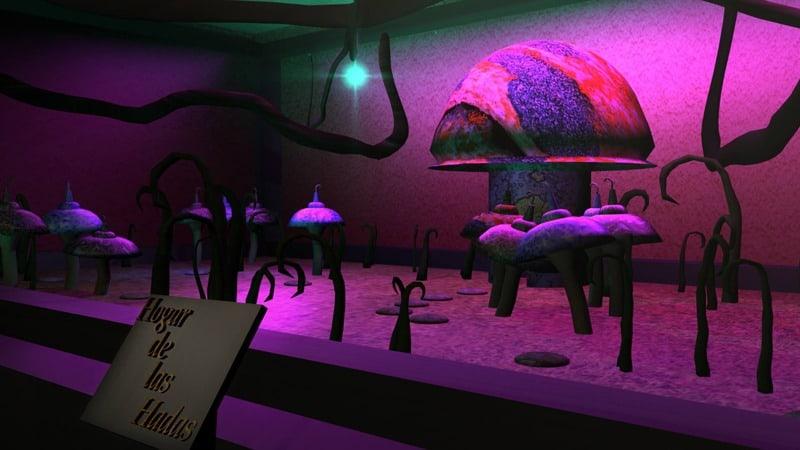 Museo de Hadas por la alumna, Angélica P. Ortiz