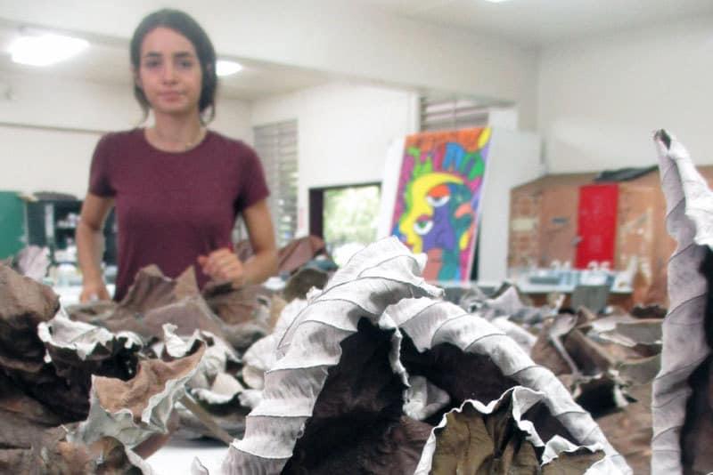 proceso TRÁNSITO De SOMBRAS, Mía Avilés Rocafort, Celeste Hernández Talabera