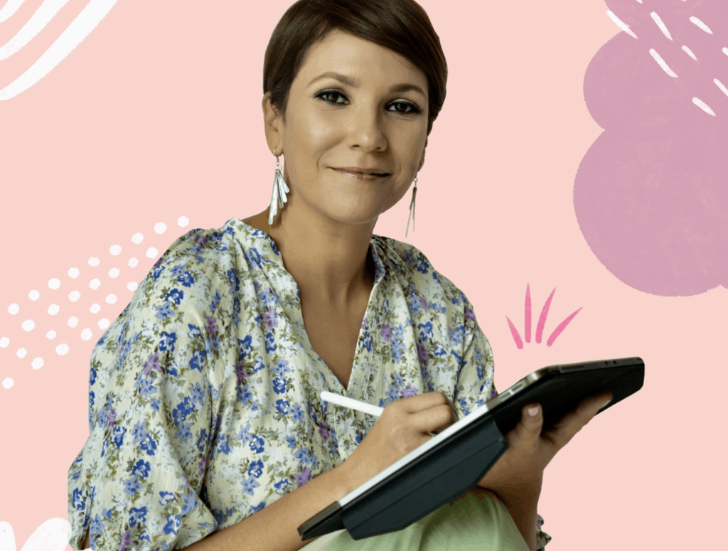 """Carla Torres Dávila, autora de la """"Guía para estudiantes de Escuela Superior"""""""