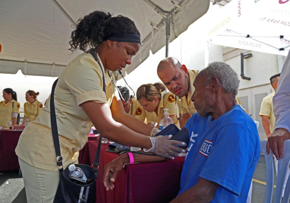 Feria de salud Enfermería