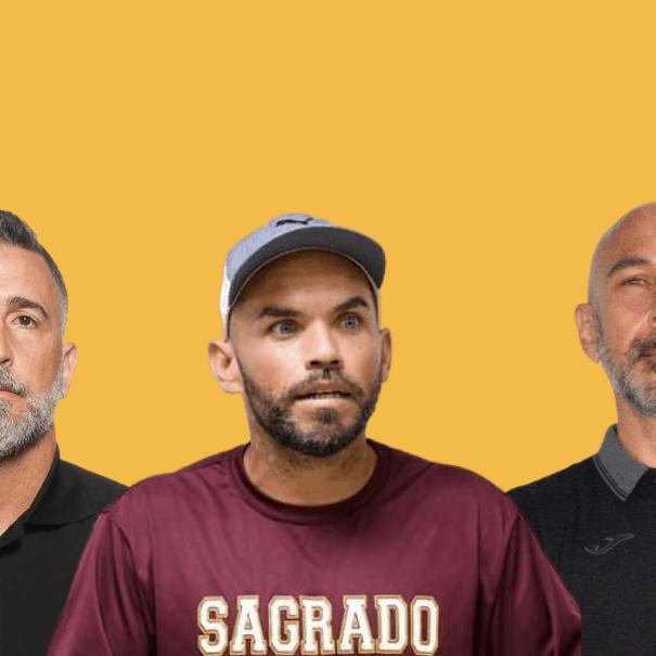 De izquierda a derecha, Wilhelmus Caanen, Axel Ortiz y Andrés Mirabelli. (Suministradas) -