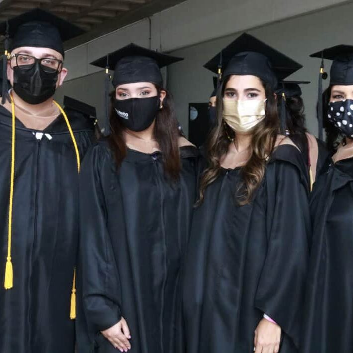 De izquierda a derecha: Jeremy Brian García, Luz Angelly Silva, Glorimel Torrado y Sorena Vázquez / Crédito: Laura Narváez